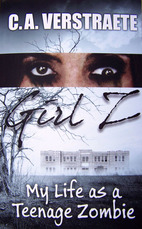 GIRL Z: My Life as a Teenage Zombie, zombie book