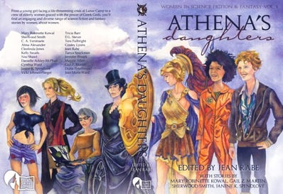 athena's daughters sci fi anthology